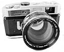 Canon 7 with 50mm f0.95 lens